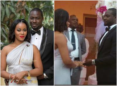 Chris Attoh Confirms Marriage Damilola Adegbite - gistlover