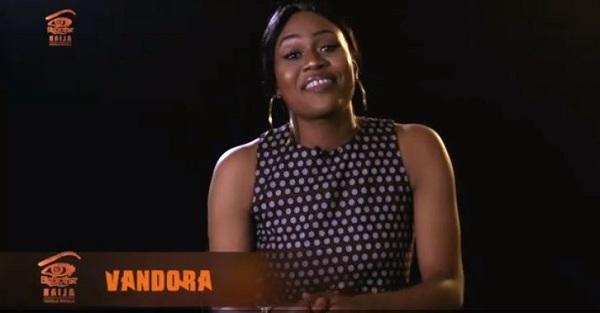 #BbNaija2018: Vandora suffers wardrobe malfunction as her boob's pops  out [Video]