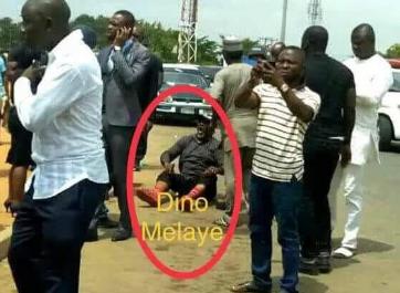 Dino Melaye under GEJ vs under PMB [photos]