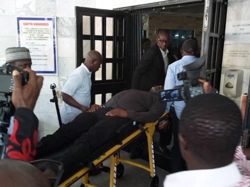 Police To Move Sick Senator Dino Melaye To Lokoja With Helicopter By Force