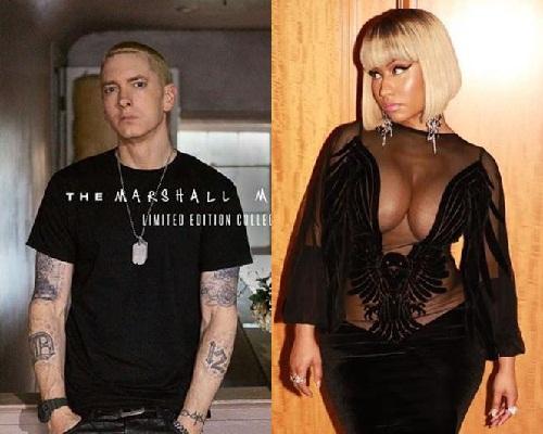 Eminem Reacts after Nicki Minaj Publicly Admit To Dating Him