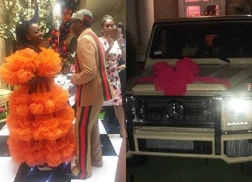femi-gbajabiamila-gifts-wife-n75m-g-wagon-50th-birthday-photos