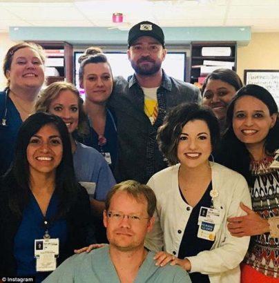 Singer, Justin Timberlake Visits Santa Fe High School Shooting Victims At Hospital [Photos]
