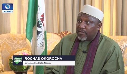 Watch Video Of Gov. Rochas Okorocha As He Justifies Corruption In Public Offices
