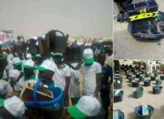 Borno Gov Gifts Youths Shoe Shining Kit As Empowerment