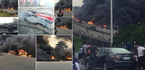 Lagos Tanker Explosion: Death Toll Rises As More People Die In Hospital