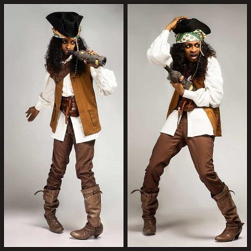 Denrele Edun turns 'Jack Sparrow' In New Photos as He Celebrates His 37th Birthday [Photos]