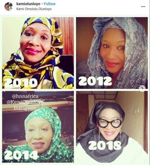 Controversial Journalist, Kemi Olunloyo Converts To Islam – Fans React [Photos]