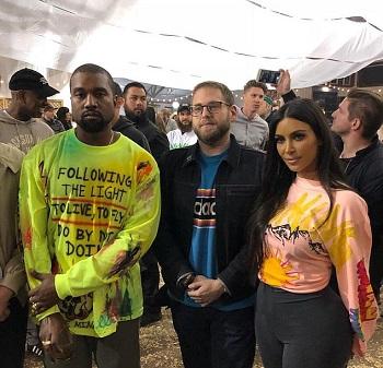 Rapper Kanye West, Hosts Album Listening Party