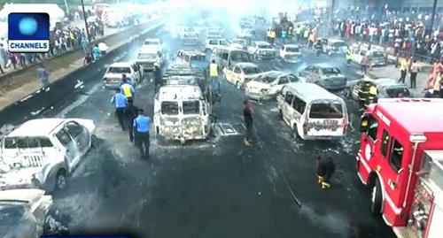 Lagos Tanker Explosion: Police Arrest Owner of Tanker