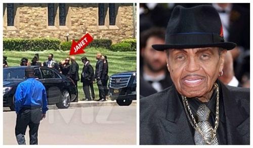 More Photos from Joe Jackson Funeral [Photos]