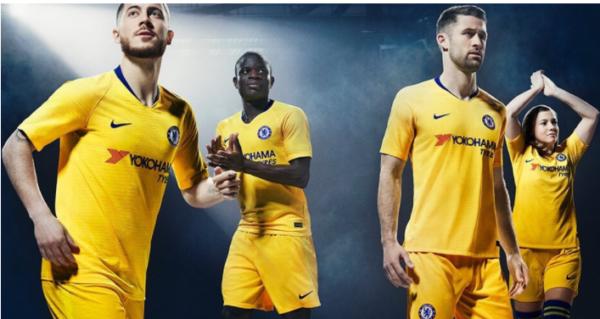 EPL 2018/19: Chelsea Introduce New Away Kit Ahead Of 2018/19 Season [Photos]