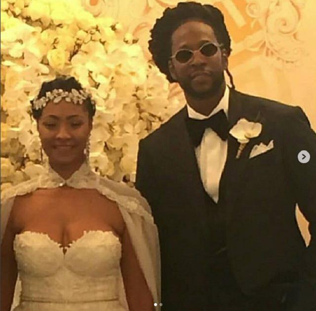 Rapper 2 Chainz Marries His Longtime Girlfriend Kesha Ward In Star-Studded Wedding [Photos]