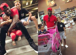 Peter Okoye, AKA Mr. P Shares Lovely Photos With His Kids [Photos]