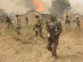 Technically defeated Boko Haram Terrorists Burn down Three Villages in Borno