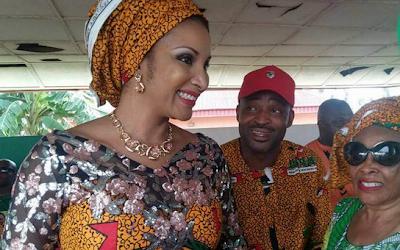 BREAKING: Bianca Ojukwu Flees Without Looking Back As Gunmen Storms APGA Primary In Anambra