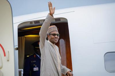BREAKING: Most Hardworking President, Buhari Heads to the UK