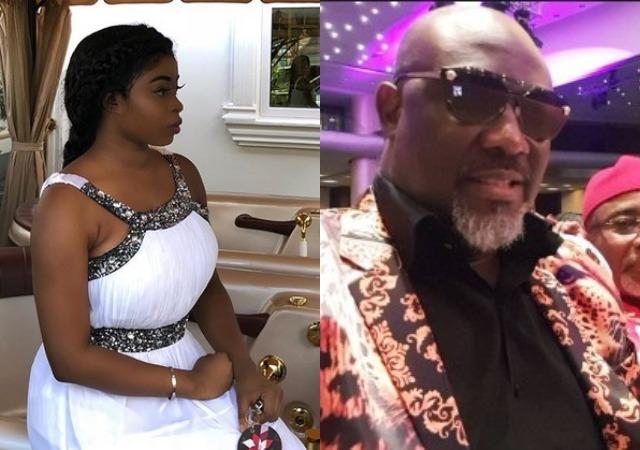 Deola, Senator Adeyemi Smart's Daughter, Calls out Dino Melaye