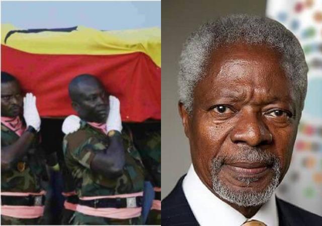 Former U.N. Secretary-General Kofi Annan's Body Returns Home to Ghana for Burial [Photos]
