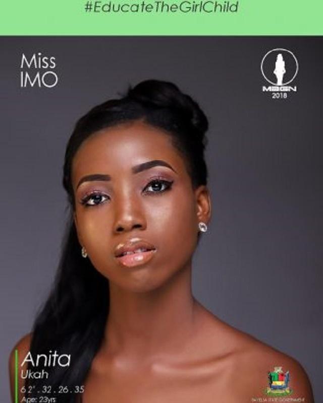 #MBGN2018: Miss Imo, Anita Ukah Wins Miss Nigeria 2018 [MBGN 2018]