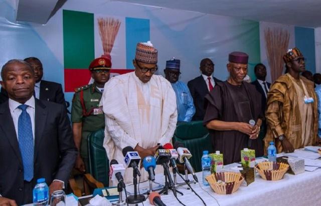 Details Of Buhari's Meeting With APC Reps Leaks