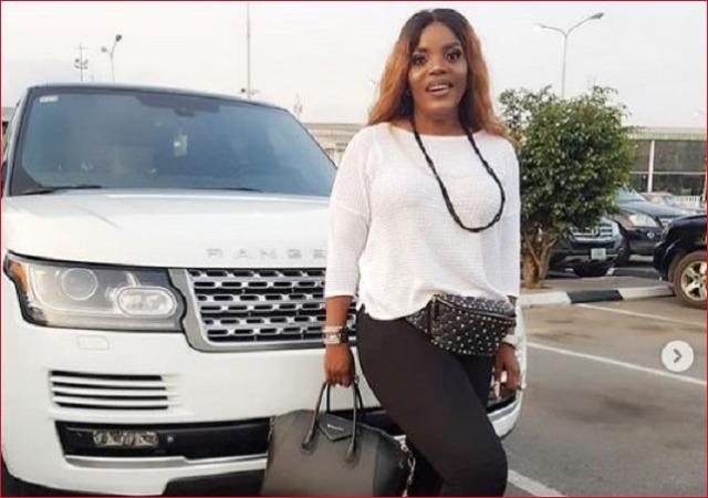 Days after Timaya Saga, Empress Njamah Flaunts Her Range Rover [Photos]