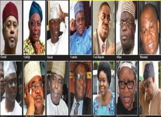 FFK, Orji Uzor Kalu, Suswam, Olisa Metuh, Dasuki, Make List as FG Releases Names of 50 Prominent Nigerians Banned From Traveling