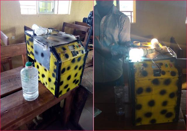 Village School Children Create Generator That Runs on Water in anambra state [Photos]