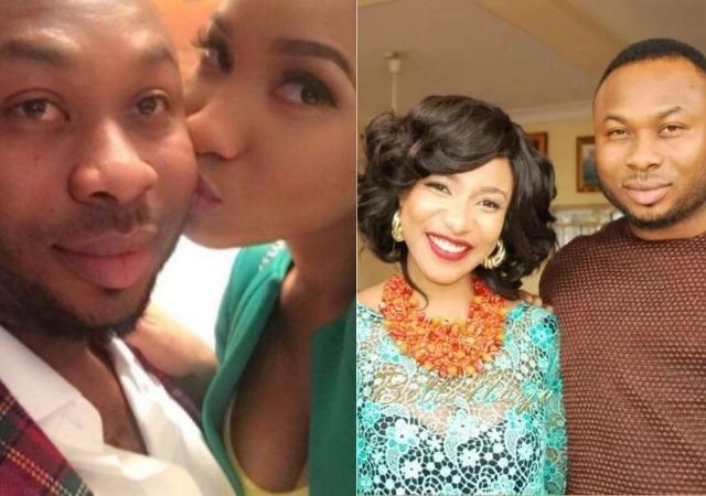 Angry Tonto Dikeh Calls Her Ex-Husband a Yahoo Boy