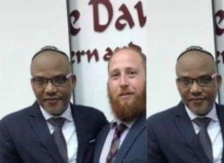 Biafra: Once Again, Nnamdi Kanu Storms Tel Aviv University in Israel