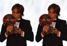 Luka Modric Beats the Likes of Cristiano Ronaldo to Win 2018 Ballon d'Or [See Full List Below]