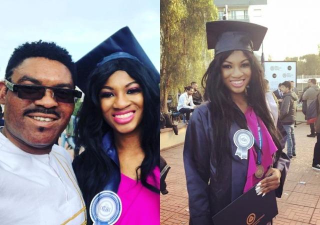 Omotola's 1st Daughter Princess Graduates from Cyprus University