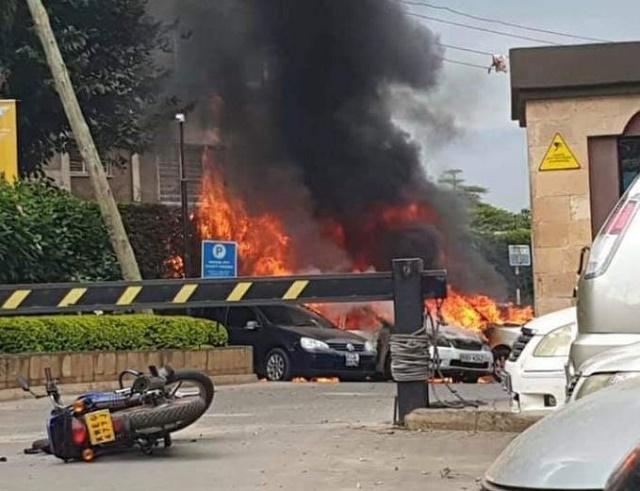 BREAKING: Upscale hotel complex in Kenya is under apparent terror attack