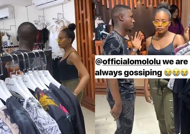 Lolu, BBNaija Ex-Housemate, Hangs Out With Kiki Osinbajo [Photos]
