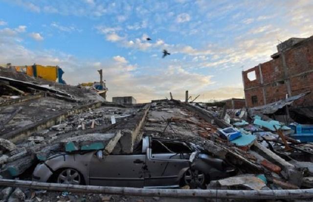 7.5 Magnitude Earthquake Hits Eastern Ecuador [Photo]