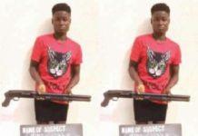 Teenage Girl Caught With Gun in Anambra State [Photos]