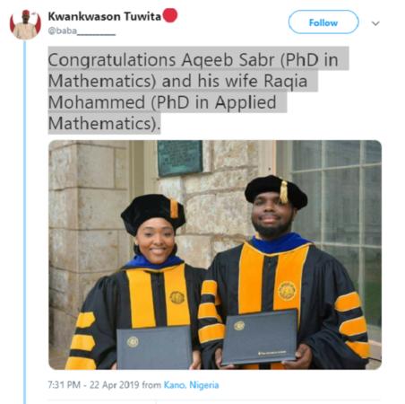 Couple bag PhDs in Mathematics
