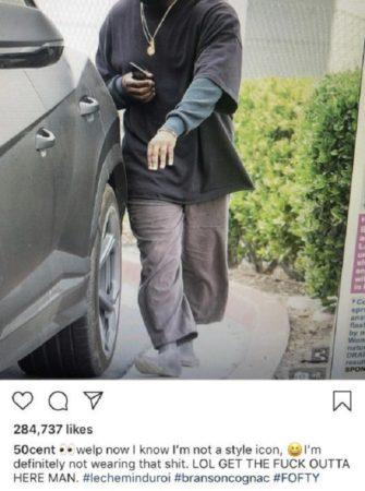 50 Cent Trolls Kanye West