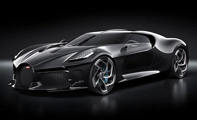 Flamboyant Footballer Ronaldo 'Buys World's Most Expensive Car' a £9.5m One-Off Bugatti La Voiture Noire [Photos]
