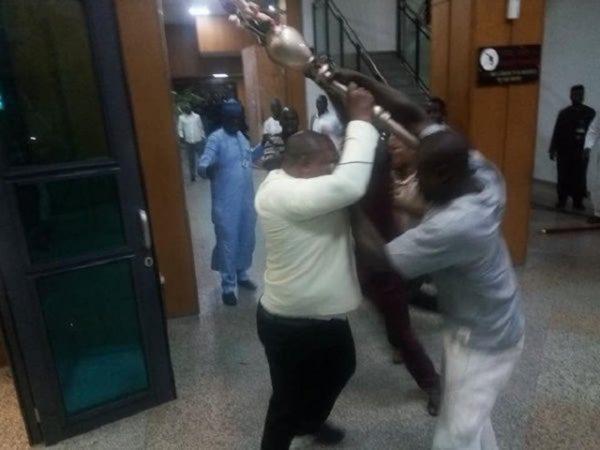 We're Still after National Assembly Mace Snatchers — Police