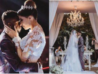 Man Utd Midfielder Fred Marries His Partner Monique Salum In Brazil [Photos]