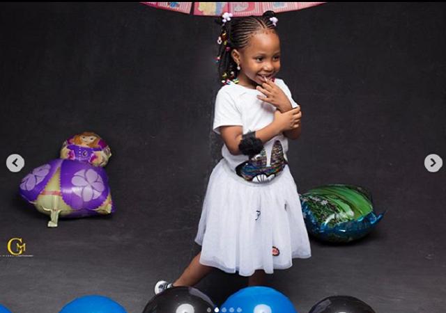 Super Eagles Captain, Ahmed Musa Celebrates His Daughter As She Clocks 3 [Photos]