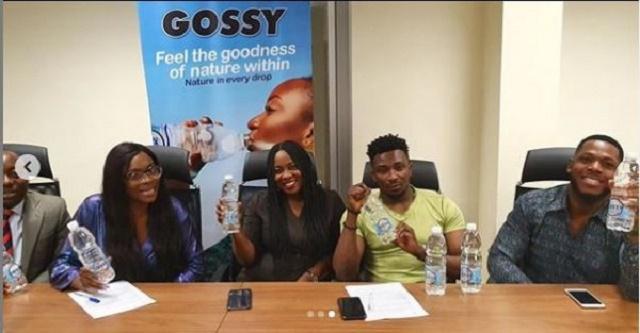 #BBNaija: Frodd and Sir Dee Bags New Endorsement Deal With Gossy [Photos]