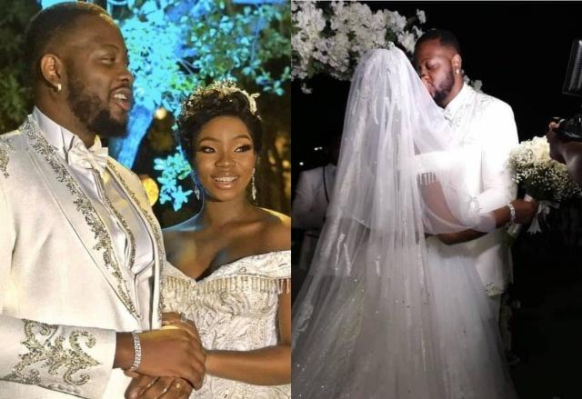 More Photos From #BBNaija Bambam And Teddy A's White Wedding In Dubai