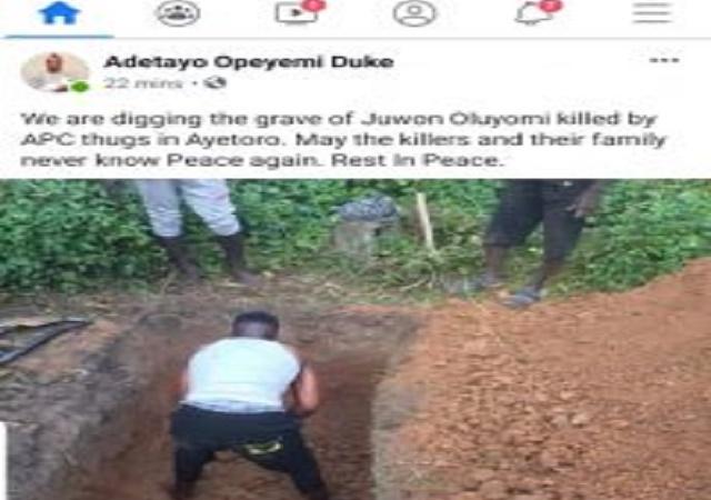 Senator Dino Melaye Nephew Reportedly Shot on Saturday, Dies