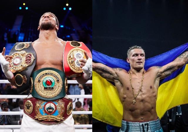 Anthony Joshua Forced To Defend His WBO Title against Ukrainian Oleksandr Usyk