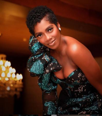 Nigerians React As Tiwa Savage Dazzles In Short Haircut [See Reactions]