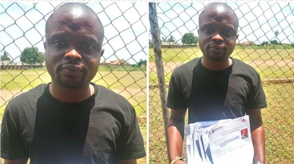 Police Arrestes Fake Amotekun Recruitment Officer In Oyo