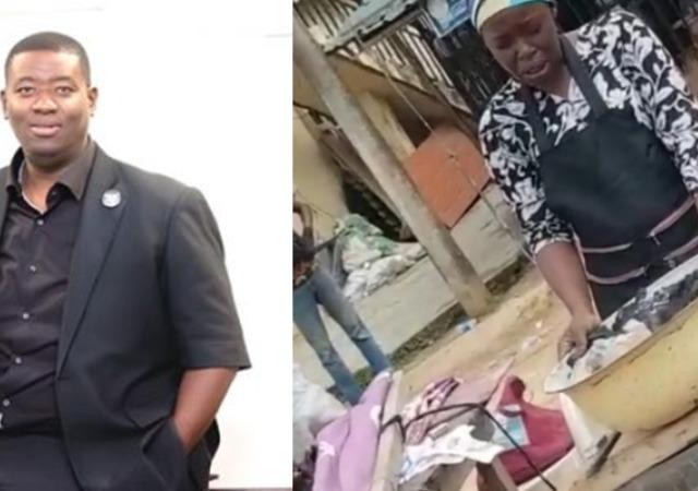 Pastor Adeboye's Son, Leke Gifts Corn Seller Money After Watching Her Pray (Video)