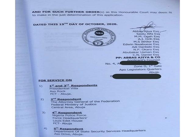 #Endsars: Adamu Garba, Ex-Presidential Aspirant, Files $1Bn Suit Against Twitter CEO Jack Dorsey.